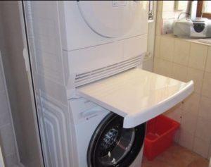 zwischenbaurahmen trockner auf waschmaschine stellen. Black Bedroom Furniture Sets. Home Design Ideas